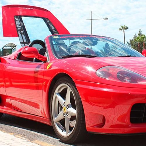 Conducir Ferrari 365 en Gran Canaria