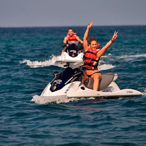 2 horas de Safari en moto de agua, Gran Canaria.