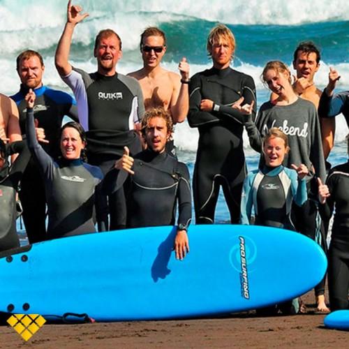 Curso de Surf Safari, Sur de Gran Canaria