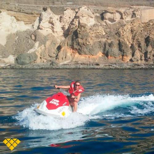 Safari en Moto de agua para 2 por la costa de Mogán 1:45 horas