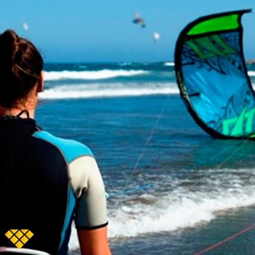 Curso kitesurf, sur de Gran Canaria
