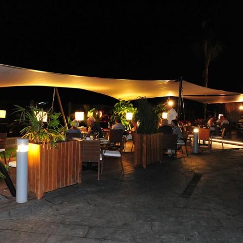 Cena en Maroa, Playa de Anfi, Gran Canaria